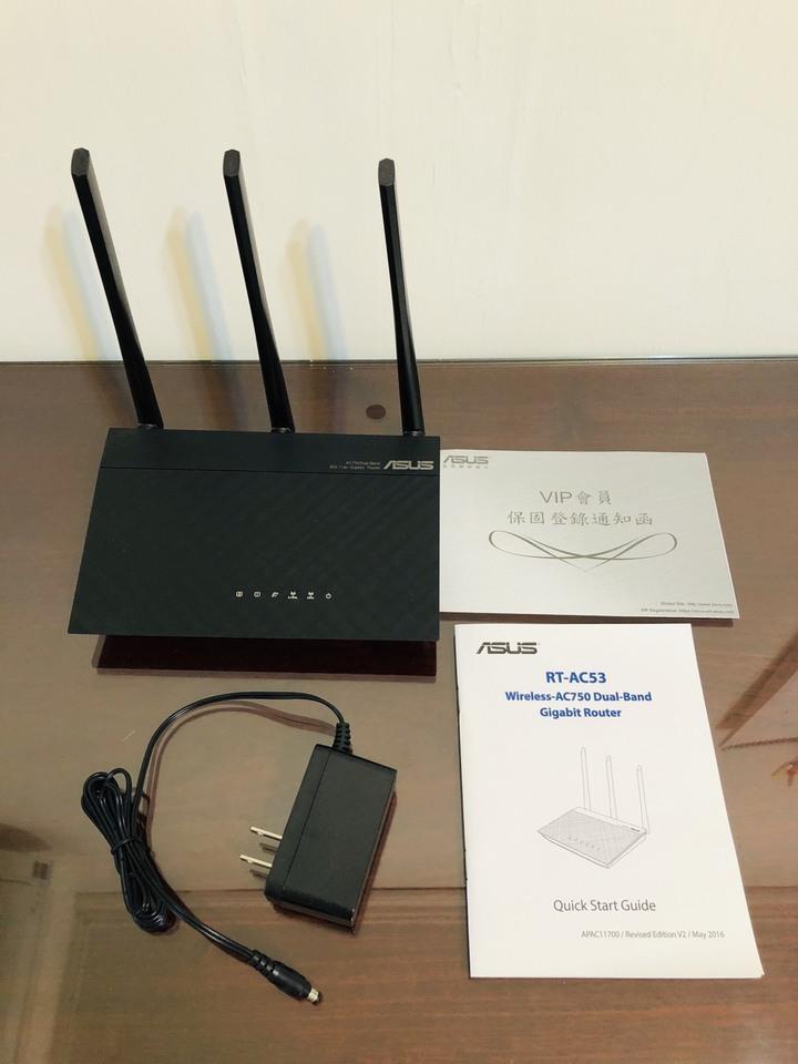 【ASUS】RT-AC53 雙頻 AC 分享器 (含運)