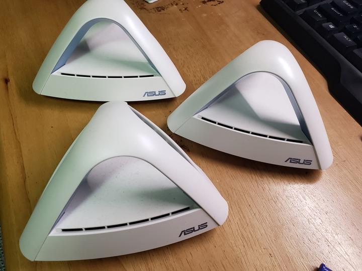 (3台一組) ASUS華碩 Lyra Trio MESH WI-FI MAP-AC1750
