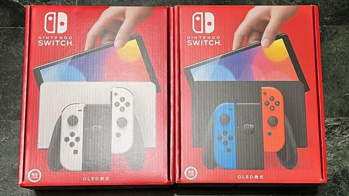 全新未拆 任天堂Switch OLED遊戲機(台灣公司貨)