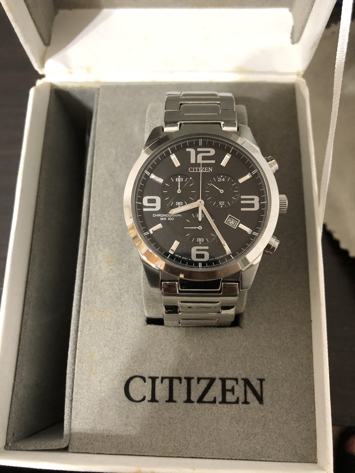 Citizen 星辰錶 原盒 電池沒電