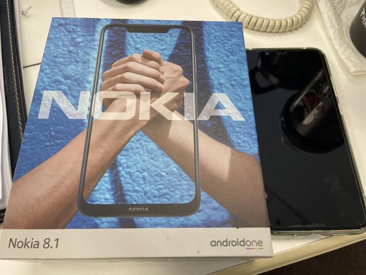 Nokia 8.1 原盒 近全新