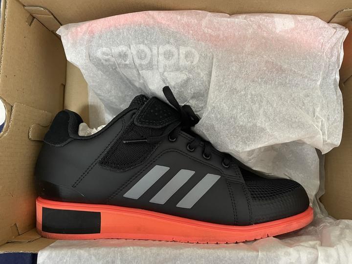 Adidas power perfect 3 舉重鞋 25cm 九五成新