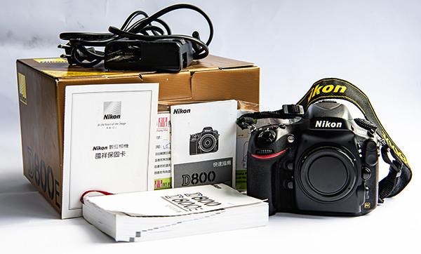 Nikon D800E 國祥公司貨、己過保固