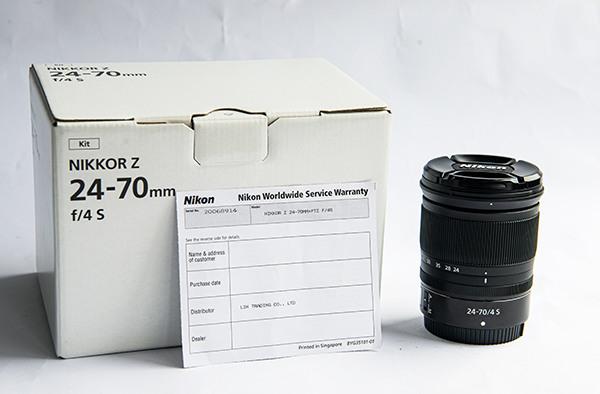 Nikon Z 24-70mm f4 s 公司貨
