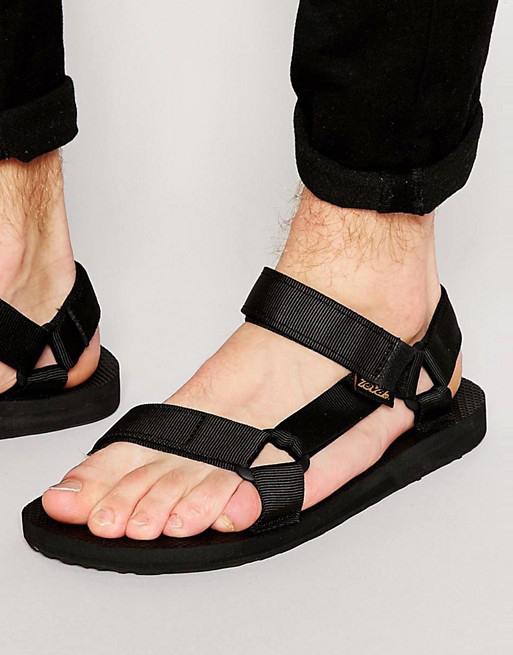 Teva Original Universal 經典沙灘戶外 休閒涼鞋 黑色 US10/28cm