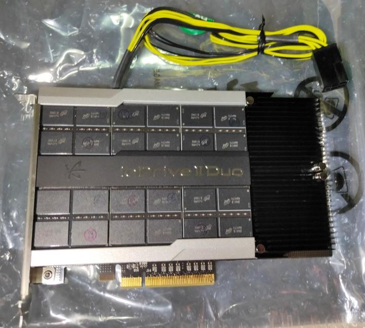 Fusion iodrive2 DUO 2.41TB/含電源線