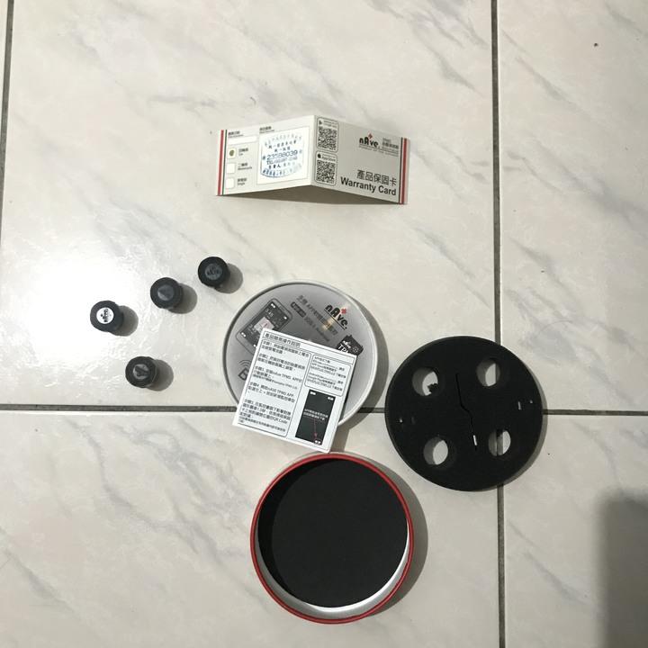 NAVE 胎壓偵測器  胎外式 4只