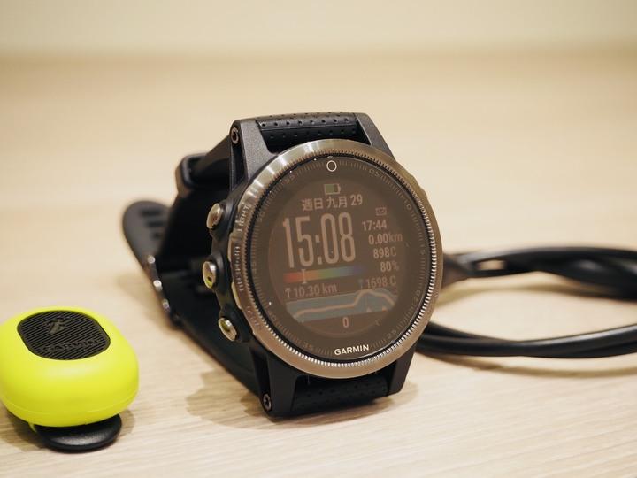 [二手] fenix5s 藍寶石進階複合式戶外GPS腕錶 + Garmin跑步動態感測器
