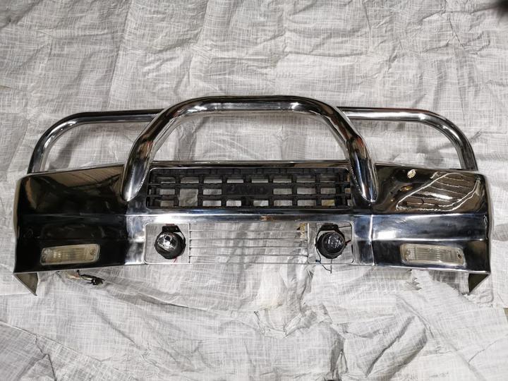 稀有 得利卡 4WD 前白鐵 防撞桿 保險桿 保桿 (柴油 汽油 一般加長型 都適用)