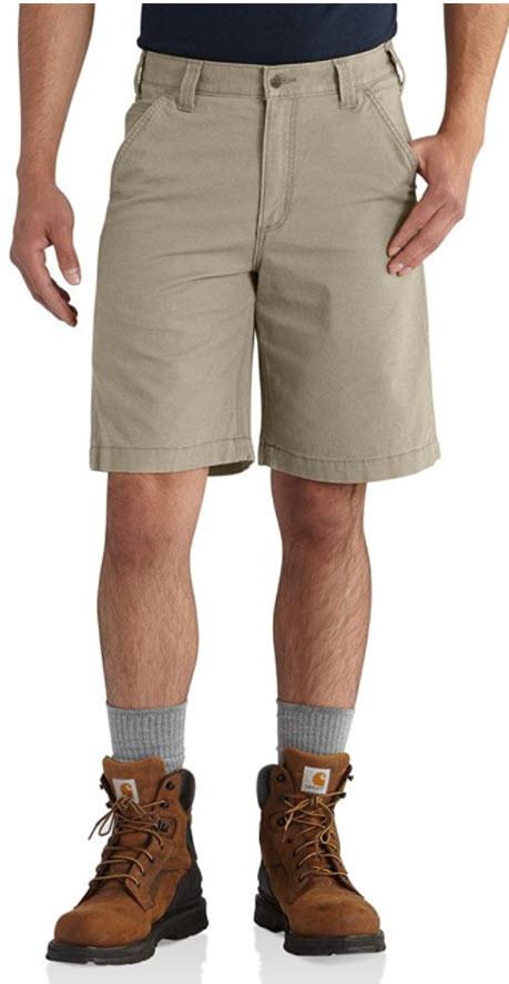 """美國Carhartt Men's 10"""" Rugged Flex Rigby 休閒工作短褲(卡哈短褲)"""