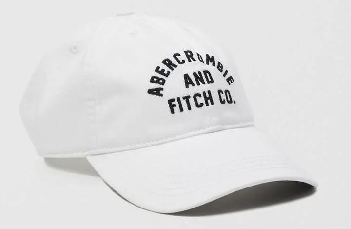 美國 Abercrombie&Fitch 棒球帽 Logo Twill Hat