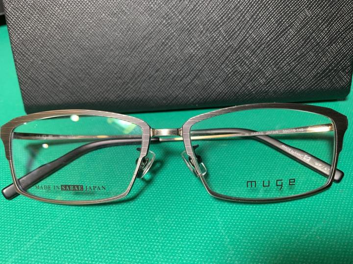 日本鯖江職人手工製作純鈦眼鏡框 ( MUGE eye Frame Made in SABAE Japan)
