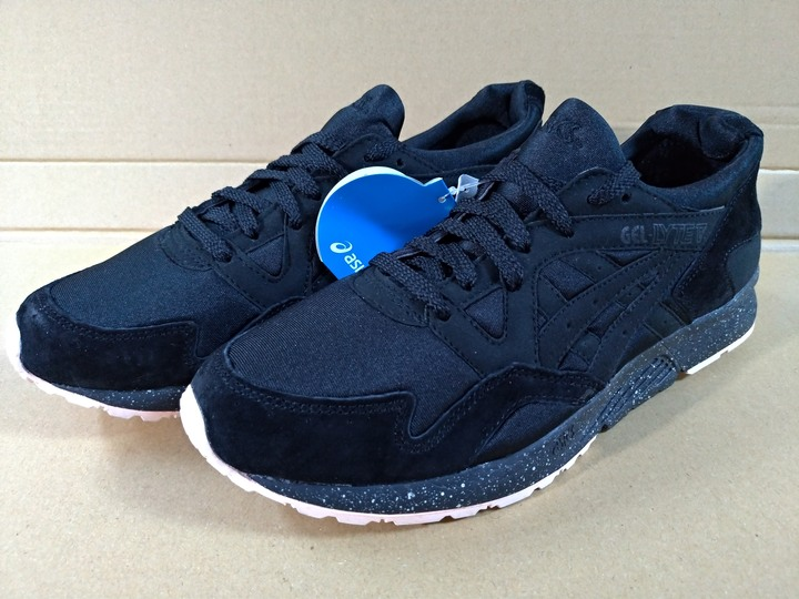 Asics Gel Lyte V Black Speckle真皮慢跑鞋US9.5