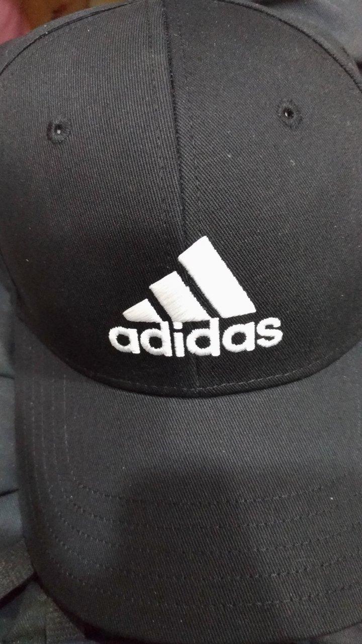 ADIDAS 愛迪達 三線白字母 運動鴨舌帽 運動帽