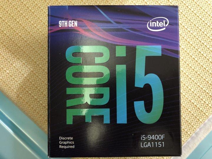 INTEL I5 9400F(8400、8500、1600、2600可參考)