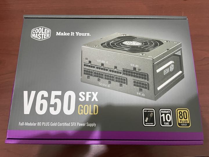 (全新)Cooler Master酷瑪 V650 SFX GOLD 650W金牌全模組電源(10年保固、SFX規格、文書機、影音機可參考)