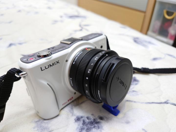 Panasonic LEICA DG SUMMILUX 15mm F1.7 +GF2