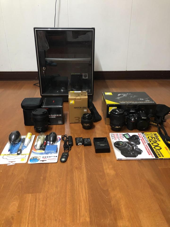 Nikno D5200相機+鏡頭組