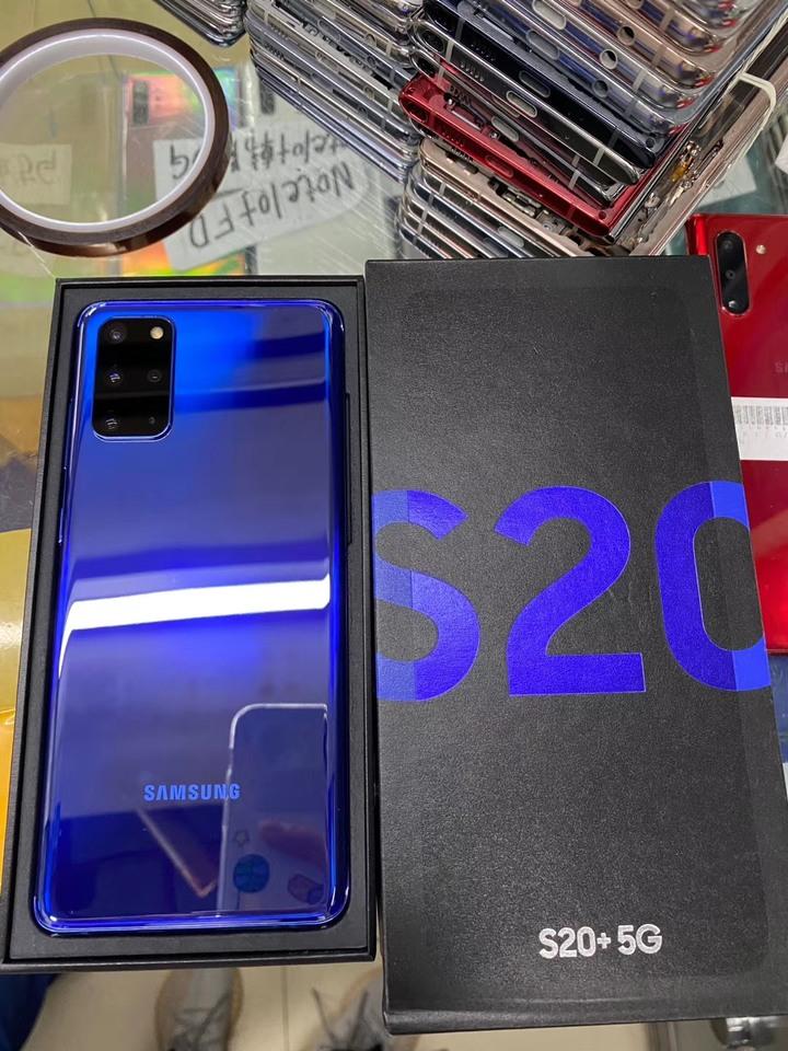 三星 S20+ 藍色 256G 全新