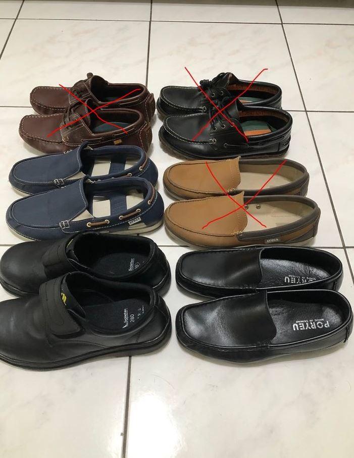帆布鞋,皮鞋,休閒鞋,不分種類全部一雙自取都是200元,寄送另加運費60(7-11店到店)
