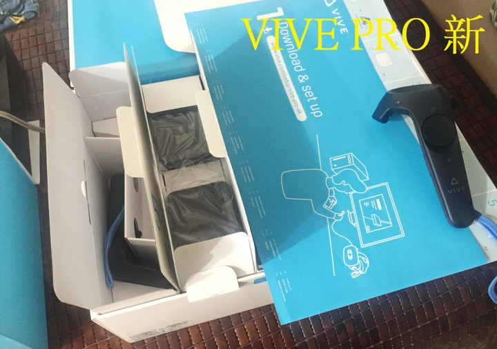 售新品跟二手VIVE基地台+手把 (擇一出售)