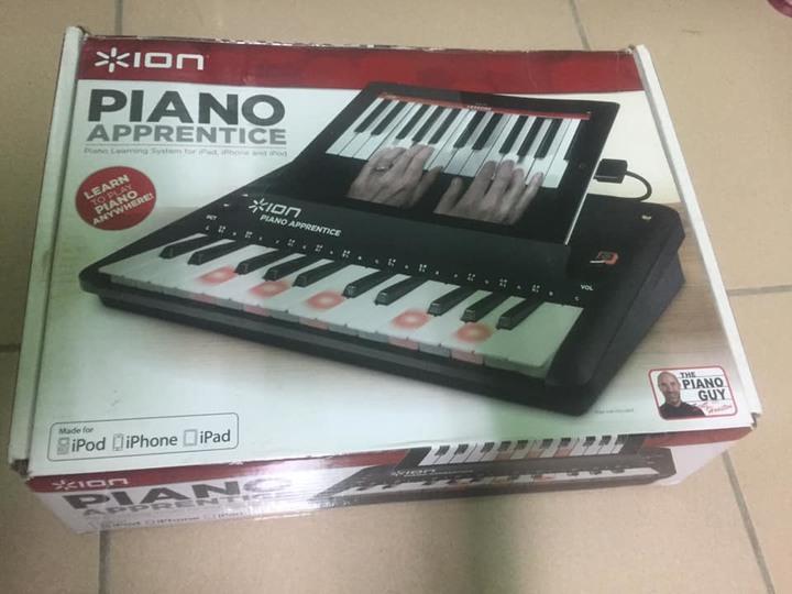 ino學習電子琴