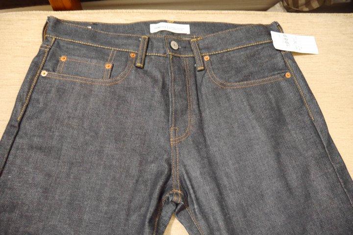 GAP 1969 原色牛仔褲 W32 L30 排扣款 重磅14oZ 赤耳