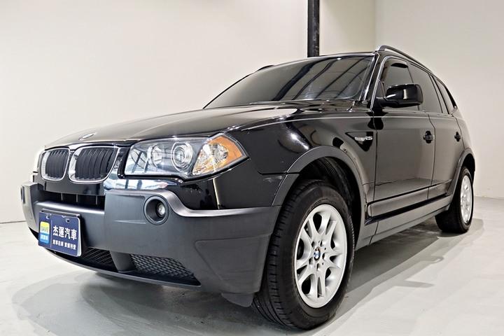 【杰運SAVE實價認證】04年BMW X3 全景天窗 下坡限速豪華SUV輕鬆入主