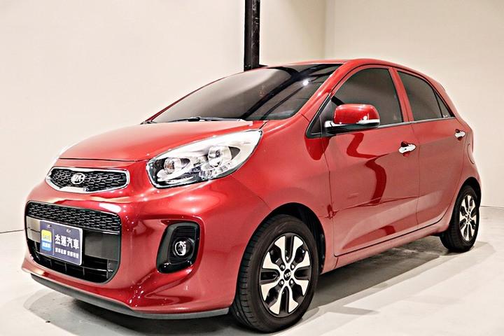 【杰運SAVE實價認證】17年Kia Morning 1.2驚豔版 省油小排氣 都市小車