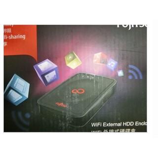 Fujitsu 富士通 2.5吋 WIFI無線外接盒