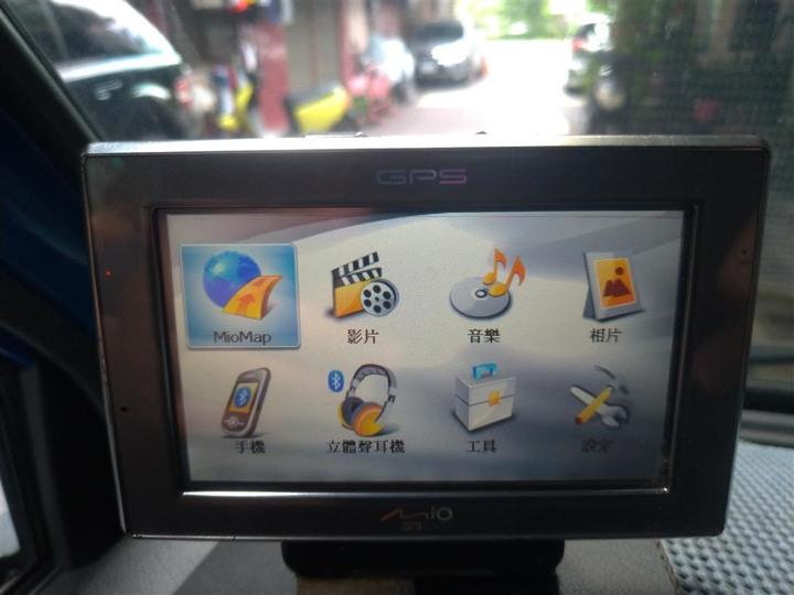 宇達電通(神腦)【4.3吋寬螢幕】Mio C520掌上型衛星導航系統 Mio C520  有加購TMC套件