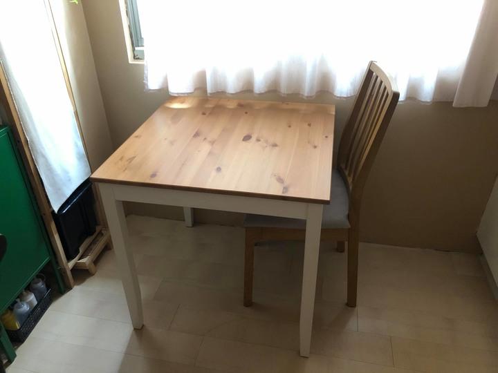 二手IKEA餐桌餐椅 1桌子+1椅子 桃園
