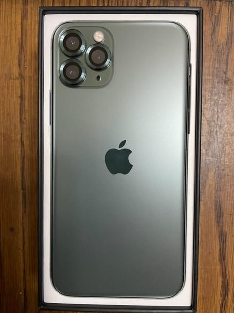iPhone 11 pro 夜幕綠 256G(可換顯示卡)