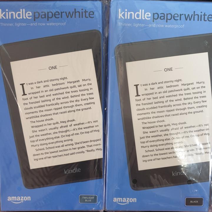 全新 Amazon Kindle PaperWhite 4(10th) 8G&32GB/暮光藍&黑色 電子書閱讀器