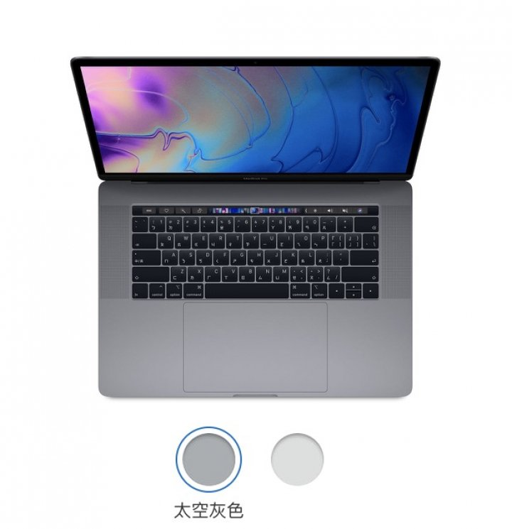 MacBook Pro 15 512GB 太空灰色 16GB RAM - 2.7GHz Late 2016
