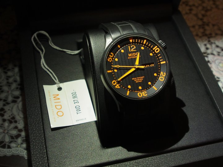MIDO Multifort  Diver AUTOMATIC -橘色指針 42MM