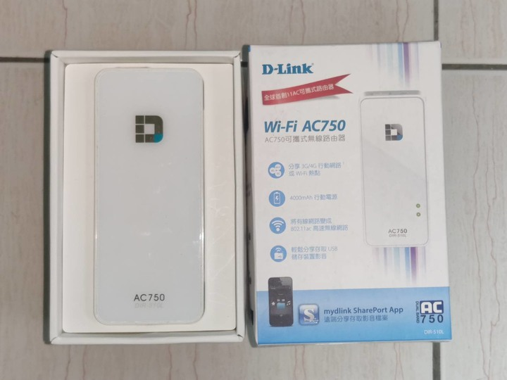 D-LINK 友訊 DIR510L AC750