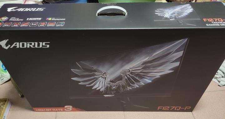 現貨 僅拆封檢查 技嘉【AORUS FI27Q -P 】27型 2K HDR IPS電競螢幕