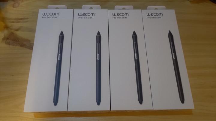 【全新】Wacom Pro Pen Slim 壓力 感應筆(KP-301E-00DZ) | 繪圖板.繪圖筆.手寫筆.感壓
