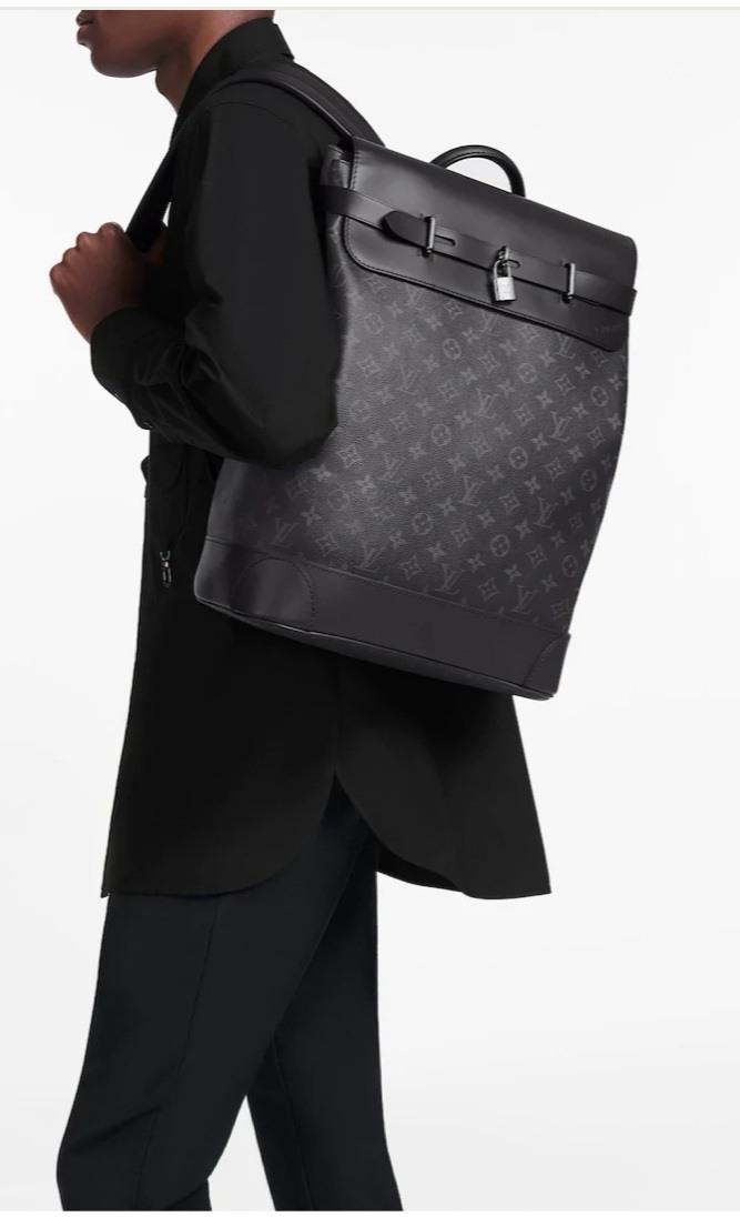 LV Louis Vuitton M44052 STEAMER 男用後背包 公事包 休閒背包