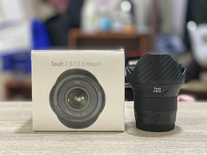 ZEISS Touit 12mm f2.8 for Sony 適用 a6500 a6300 a6400 a6600