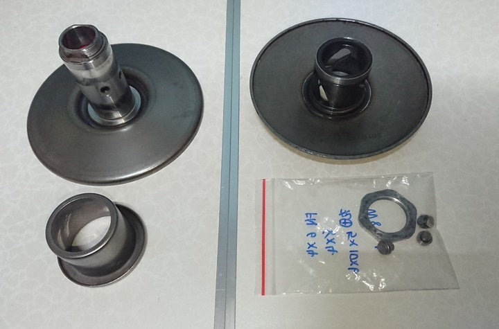 (免運費) 三陽 原廠 H6T 開閉盤 曲溝 彎溝 悍將F1 146mm sym 二手良品