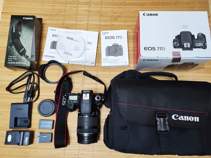 Canon EOS 77D + Canon EFS 18-135 IS STM 公司貨