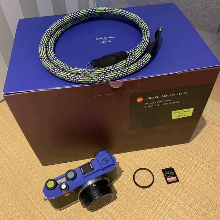 Leica CL Paul Smith 公司貨全球限量900組+Leica E39保護鏡