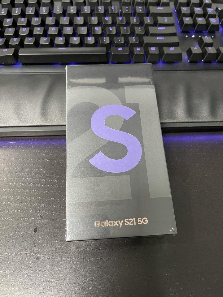 全新未開封 S21 5G 8GB 128GB Samsung