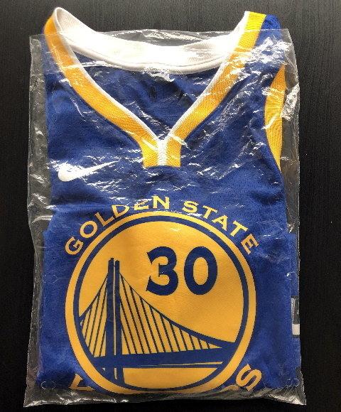 (美國帶回)勇士隊Nike NBA Swingman 球衣-Stephen Curry Warriors Icon Edition