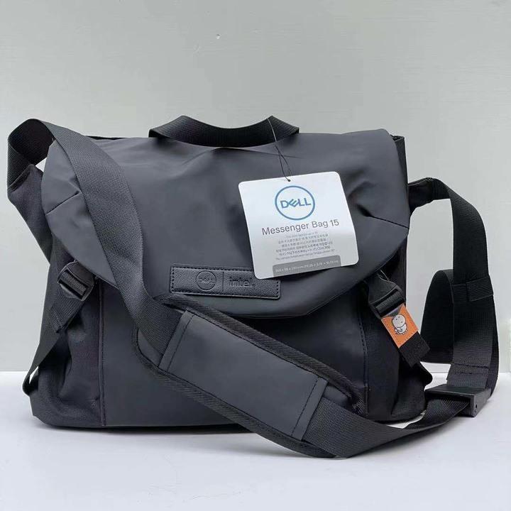 戴爾DELL筆記本平板電腦包斜跨單肩背包防水13英寸男女通用郵差包(接受預購)
