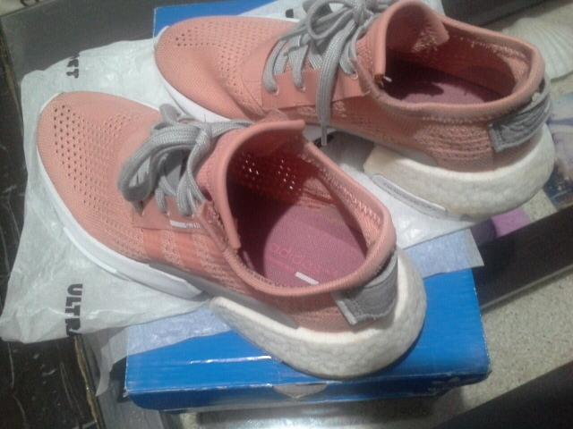 adidas pod s3.1   粉紅色 女鞋 尺碼 us8 25cm  含運費