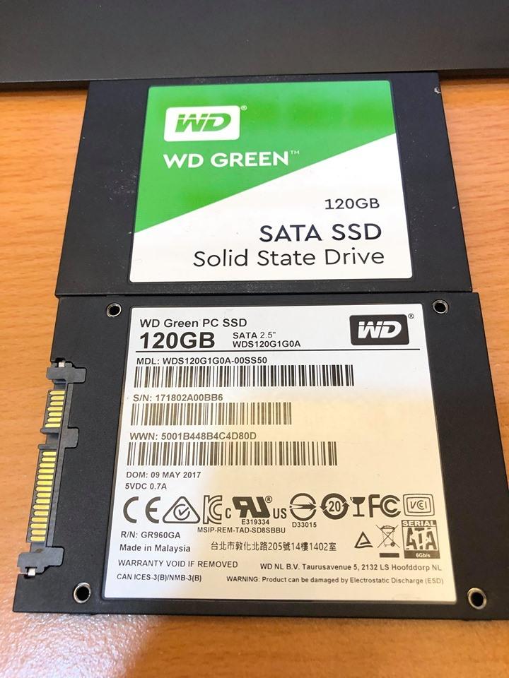 出售兩顆2.5吋120G ssd