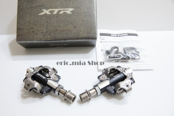 shimano XTR PD-M9100 登山車踏板 全新盒裝公司貨 含鞋底板SH-51